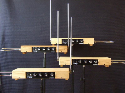 Custom built Etherwave theremin