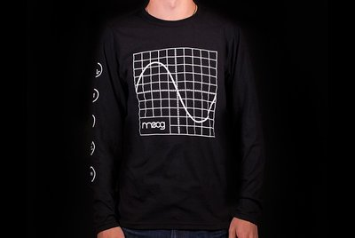 Long Sleeve Oscilloscope Shirt
